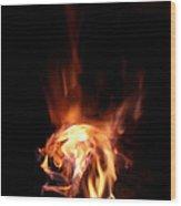 Round Heat Wood Print