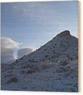 Round Mountain  Wood Print
