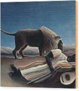 Rousseau: Gypsy, 1897 Wood Print