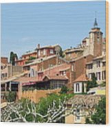 Roussillon In Provence Wood Print