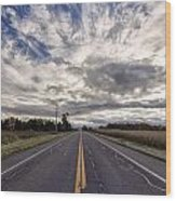 Route 436 Wood Print
