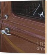 Route 66 Classic Cars 14 Wood Print