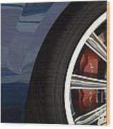 Route 66 Classic Cars 3 Wood Print