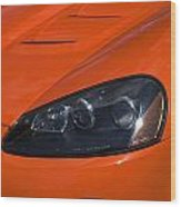 Route 66 Classic Cars 8 Wood Print