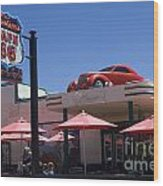 Route 66 Cruisers Williams Arizona Wood Print