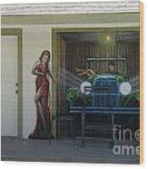 Route 66 Motel Arizona Wood Print