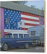 Route 66 Nomad Wood Print