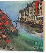 Rovinj The Ancient Adriatic City Wood Print