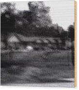 Row Houses- Monroe Louisiana Wood Print