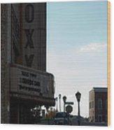 Roxy Regional Theater Wood Print by Ed Gleichman
