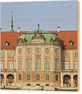 Royal Castle In Warsaw Wood Print