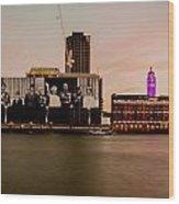 Royal Family And Oxo Tower Wood Print