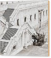 Royal Palace Madrid Wood Print