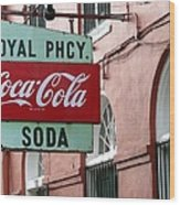 Royal Pharmacy Wood Print
