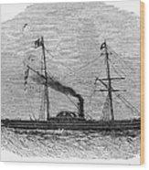 Royal Yacht, 1843 Wood Print