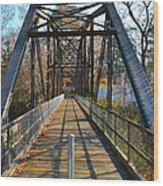 Rube Nelson Bridge 1 Wood Print