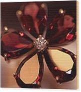 Ruby Ring. Spirit Of Treasure Wood Print