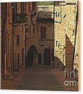 Rue De La Italia Wood Print