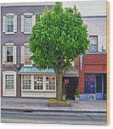 Rue Franklin Wood Print