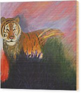 Ruler Of The Sunderban Wood Print