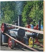 Rumley Powers The Saw Wood Print
