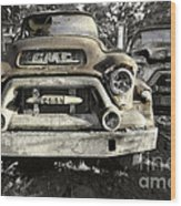 Run Gmc Wood Print