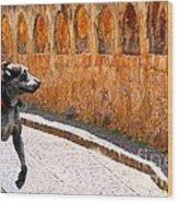 Runaway Dane Wood Print