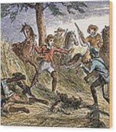 Runaway Slave Wood Print by Granger
