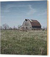 Rural Arkansas Wood Print