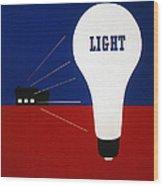 Rural Electrification 1937 Wood Print