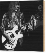 Rocking Out In Spokane 1977 B Wood Print
