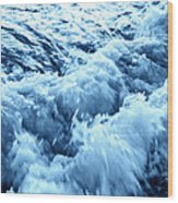 Ice Cold Water Wood Print