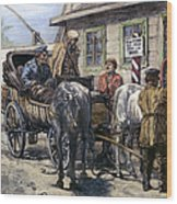 Russia: Siberia, 1882 Wood Print