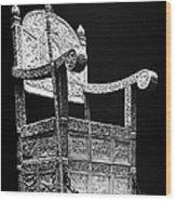 Russia: Throne Of Ivan Iv Wood Print