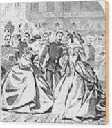 Russian Visit, 1863 Wood Print by Granger