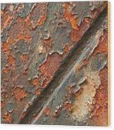Rust IIi Wood Print