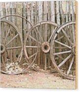 Rust In Peace Wood Print