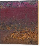 Rusted Wagon Abstract Wood Print