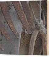 Rustic Decoration Wood Print