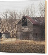 Rustic Old Barn Wood Print