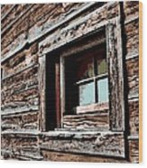 Rustic Portal Wood Print