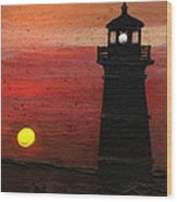 Rustic Sky Wood Print
