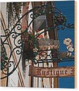 Rustique Flor II Wood Print