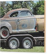 Rusty 1941 Chevrolet . 5d16210 Wood Print