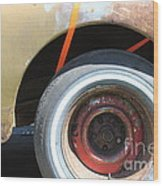 Rusty 1941 Chevrolet . 5d16212 Wood Print by Wingsdomain Art and Photography