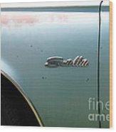 Rusty 1965 Plymouth Satellite . 5d16630 Wood Print