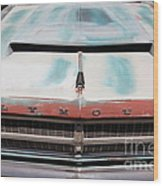 Rusty 1965 Plymouth Satellite . 5d16632 Wood Print by Wingsdomain Art and Photography