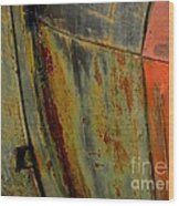 Rusty Abstract Wood Print