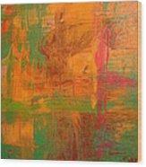 Rusty Hue Wood Print