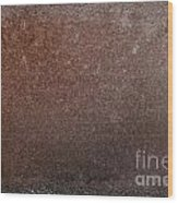 Rusty Iron Wood Print